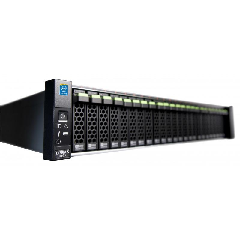 ETERNUS DX60 S3 SFF 2x2-SAS 10x900SAS 2xPSU 3YOS
