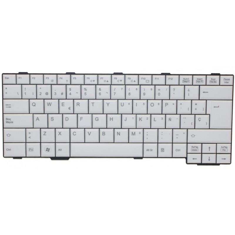 KEYBOARD WHITE WO TS DENMARK/FUJ:CP474618XX Auftragsbezogener Artikel/ Keine Retoure/ Max. Bestellmenge 1 Stück