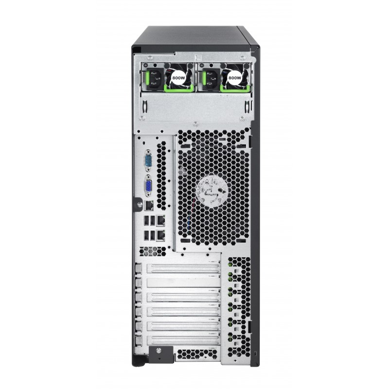 Fujitsu Primergy TX2540 M1 E5-2420v2/8GB/3x300SAS/RAID/2x1Gb/2xPSU/3YOS