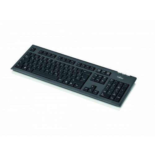 KB410 PS2 BLACK PT/BR