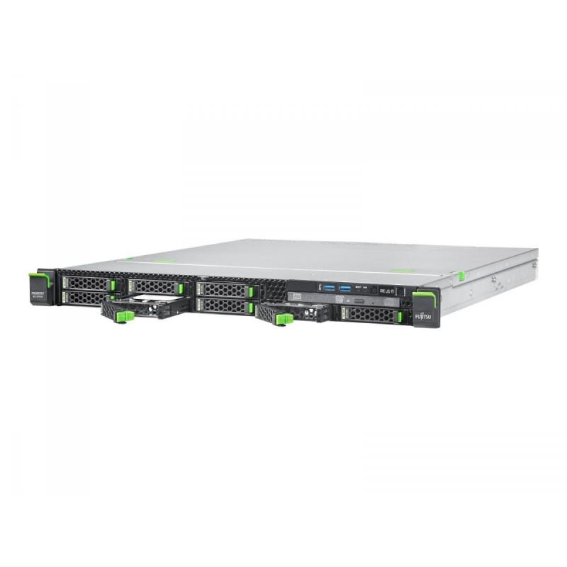 FUJITSU PRIMERGY RX1330 M2 LFF HDDs Xeon E3-1230v5 1x8GB DDR4 2133ub ECC PRAID SAS 12G CP400i 0,1,10,5,50 HDD 2x300GB SAS 12G 10