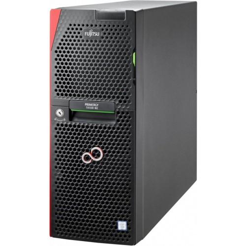 FUJITSU PRIMERGY TX1330 M2 LFF HDDs Xeon E3-1230v5 1x8GB DDR4 2133ub ECC SATA 6G 0,1,10 2x1Gb LAN DVD-RW 1xRED 450W PSU Hot Plug