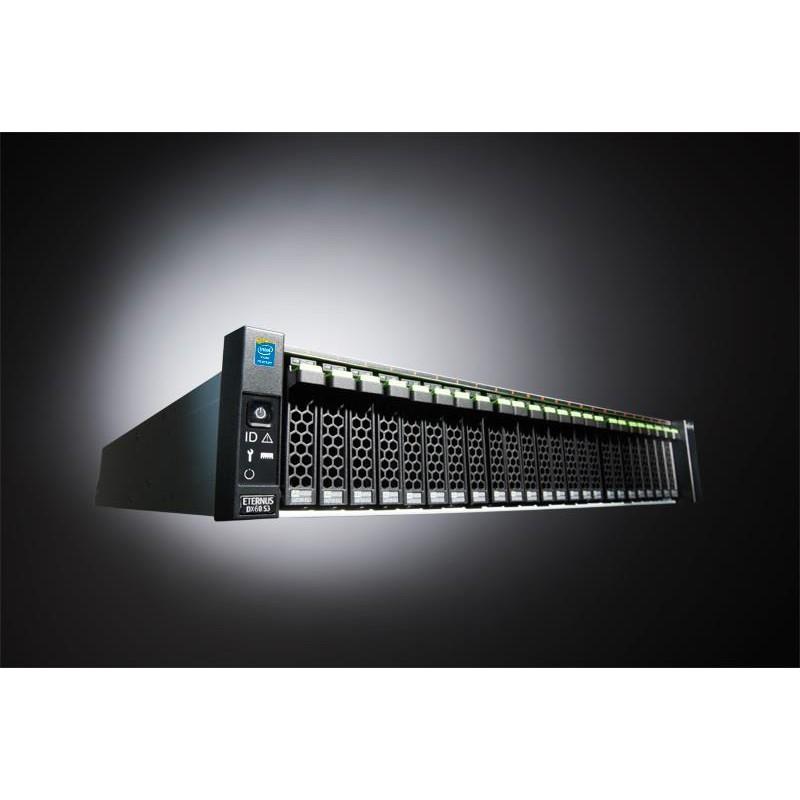 ETERNUS DX60 S3 SFF 2x2-FC 6x300SAS 2xPSU 3YOS