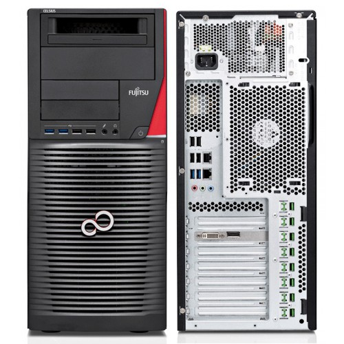 Fujitsu Celsius M740 E5-1620v3 16GB 256SSD 2TB DVD W7-10P 3Y