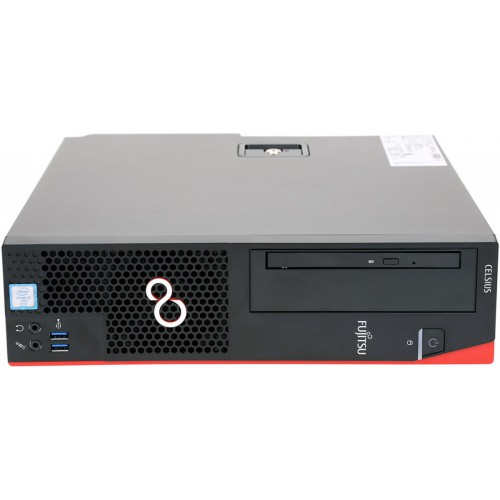 FUJITSU Celsius J550/2 Xeon E3-1245v6 16GB ECC DVD-SM SSD 256GB HDD 2TB KB Mouse Win10 Pro64