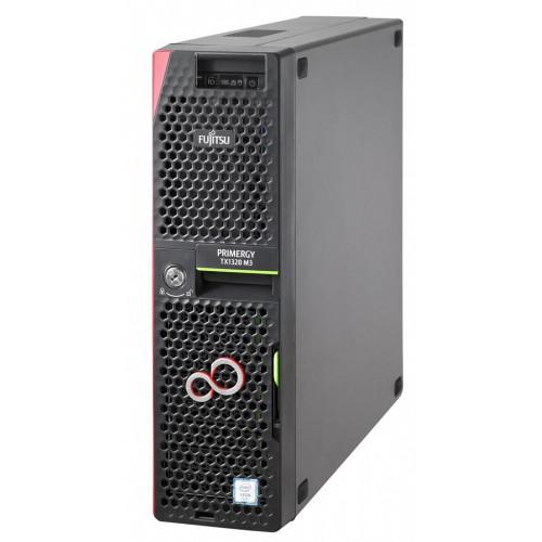 Fujitsu Primergy TX1320 M3 E3-1220v6/8GB/2x600SAS/RAID/2x1Gb/1YOS