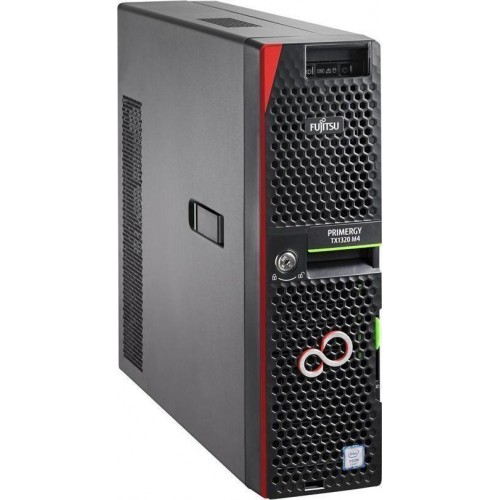 Serwer TX1320M4 E-2234 1x8GB 2x480GB SSD 2x1Gb + 1Gb IRMC DVD-RW 1Y VFY:T1324SX172IN