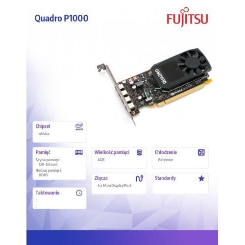 Karta graficzna NVIDIA Quadro P1000 4GB S26462-F2222-L105
