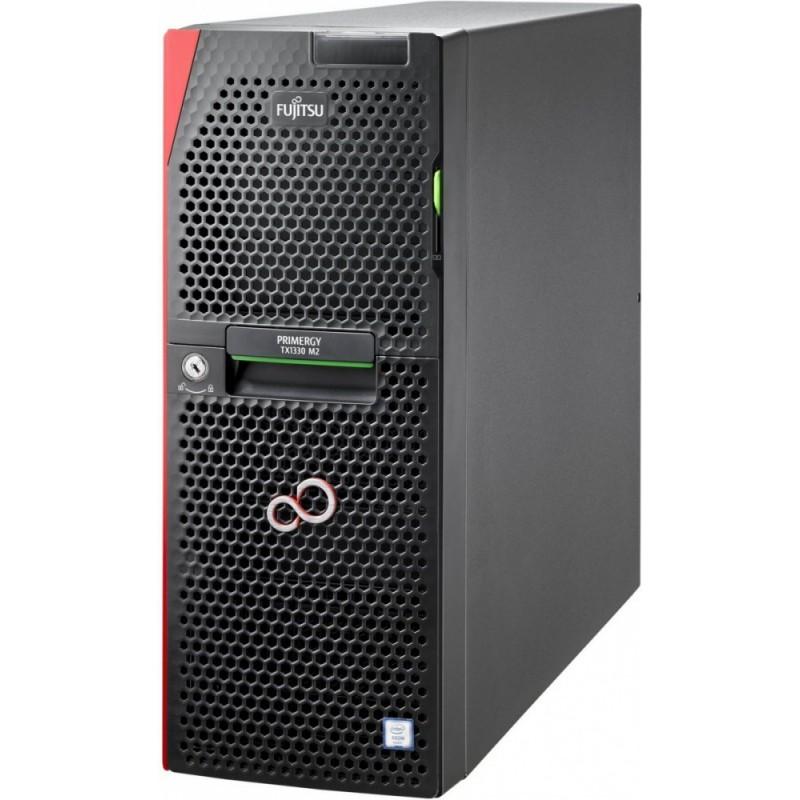 FUJITSU PRIMERGY TX1330 M2 LFF HDDs Xeon E3-1220v5 1x8GB DDR4 2133ub ECC PRAID SAS 12G CP400i 0,1,10,5,50 HDD 2x2TB BC SATA 6G 7