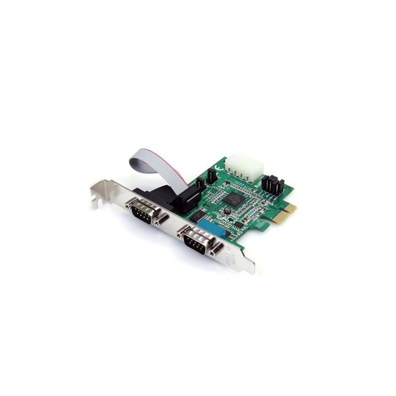 DUAL SERIAL CARD PCIE X1/Dual Port RS232 über Splitterkabel für F/ Fujitsu CELSIUS W410, W510 und ESPRIMO C700, E500, E700, E900