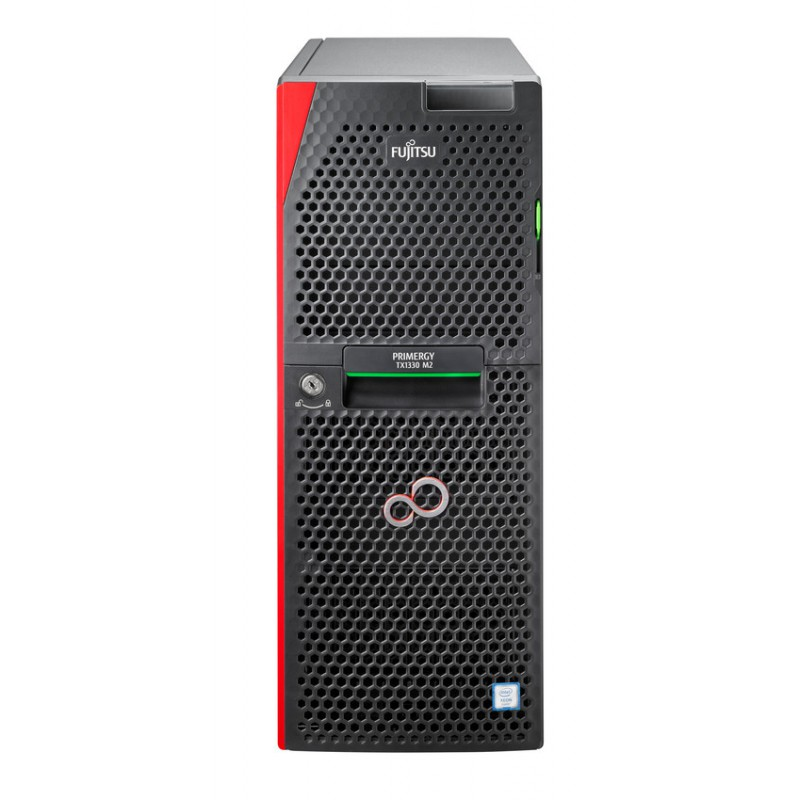 PRIMERGY TX1330 M3 E3-1220 V6/Tower // 1x Intel Xeon E3-1220v6 4C/4T 3.00 GHz/ 1x 8GB (1x8GB) 1Rx8 DDR4-2400 U ECC/ DVD-RW super