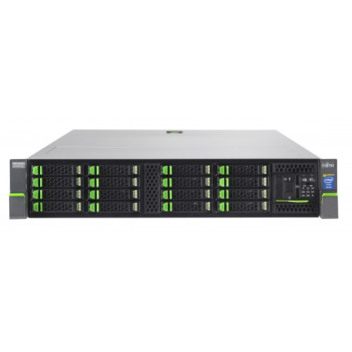 Fujtisu Primergy RX2520 M1 SFF (2U) E5-2403v2/8GB/noHDD/2x1Gb/1xPSU/3YOS