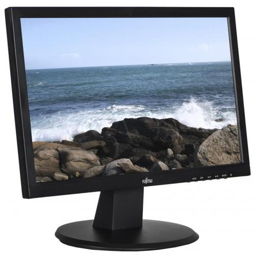 Fujitsu Monitor E20T-7 LED BLACK