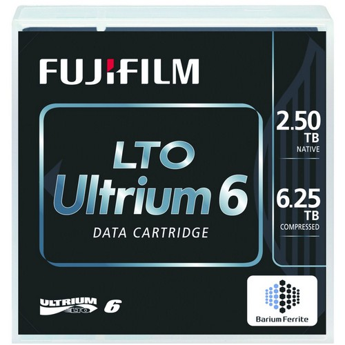 LTO-6 CR media,5pack random label,Fuji