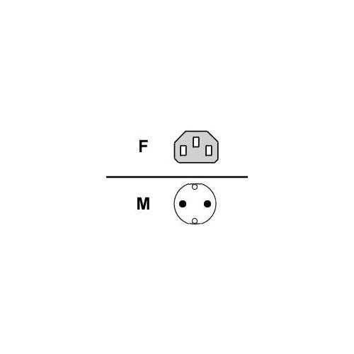 Fujitsu Lokalizacja Cable/Power 240v 1.8m ext f Primergy