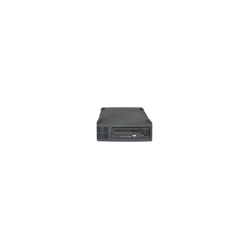 """TAPE KIT LTO3HH ULTR 400GB/SAS 3Gb Interface, mini-SAS Connect, 1,6"""" Einbauhöhe, schwarz mit SAS Kabel mit Daten- und Reinigungs"""