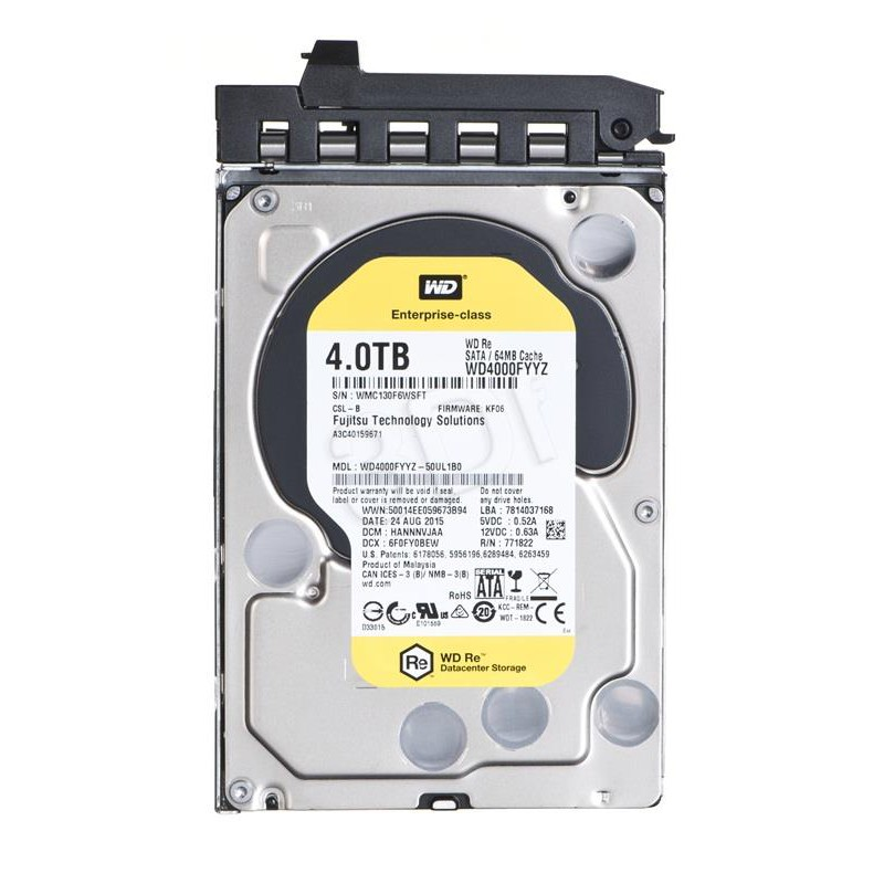 FUJITSU HD SATA 6G 4TB 7.2K HOT PL 3.5'' BC