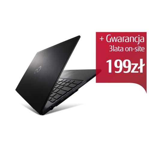 Fujitsu Lifebook U938 FHD i5-8250U 12GB 256SSD BT PVS W10P 2Y BLACK