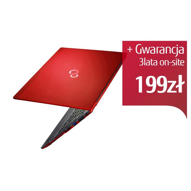 Fujitsu Lifebook U938 FHD i7-8650U 12GB 512SSD LTE BT PVS W10P 2Y RED