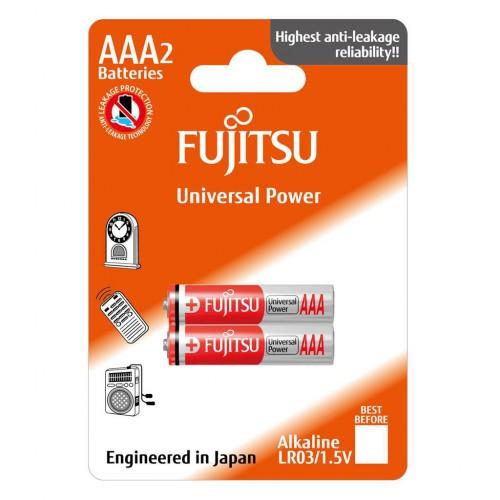 FUJITSU Baterie Alkaliczne LR03 AAA 2 szt | blister
