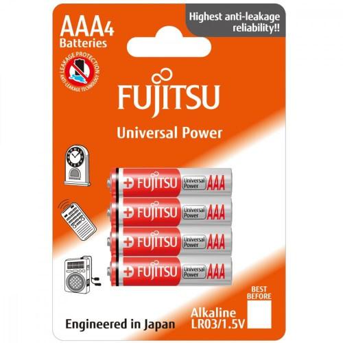 FUJITSU Baterie Alkaliczne LR03 AAA 4 szt | blister