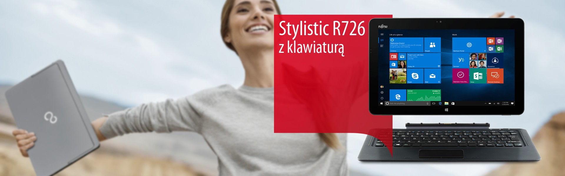 Stylistic R726 z klawiaturą